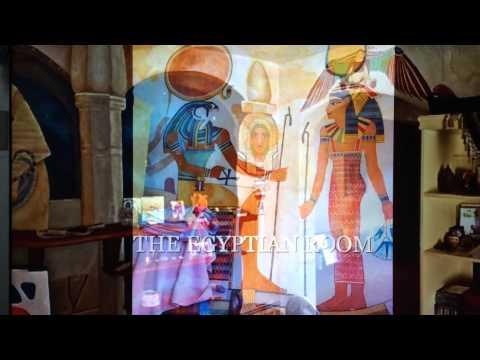 THE EGYPTIAN  LIVING ROOM