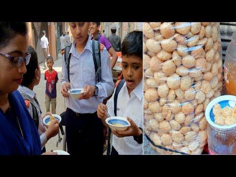 Tasty Fuska Bengali Pani Puri Students & Local pepole Favorite street Food Fuska School Side street