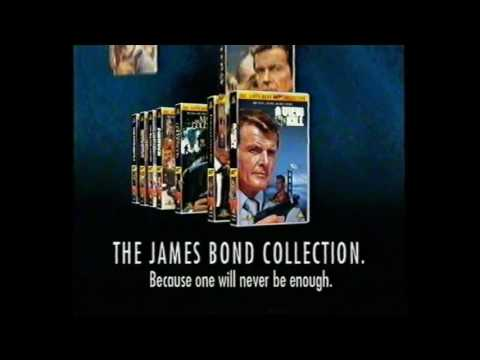 Moonraker from 007 James Bond Collection VHS Opening Trailers UK Retail Cassette