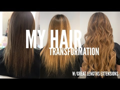 Extreme Hair TRANSFORMATION!! (Great Lengths Extensions)