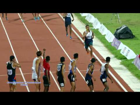 MEN'S  4X400m RELAY FINAL. 22nd ASIAN ATHLETICS CHAMPIONSHIPS-2017