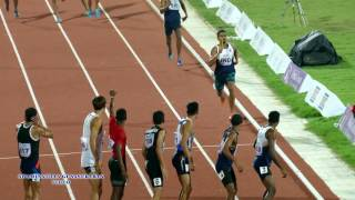 MEN'S  4X400m RELAY FINAL. 22nd ASIAN ATHLETICS CHAMPIONSHIPS-2017