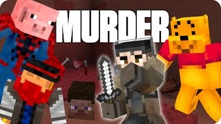 ¡ASESINO SILENCIOSO! MURDER | Minecraft Con Sara, Luh Y Macundra
