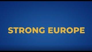 EPP Manifesto - Strong Europe