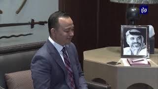 الملك يستقبل وزير التعليم الماليزي (17-4-2019)