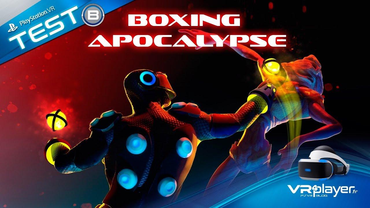 PlayStation VR PSVR : Boxing Apocalypse Review Test VR4player.fr