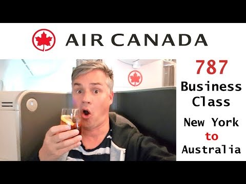 Air Canada Business Class Review - 787 Long Haul