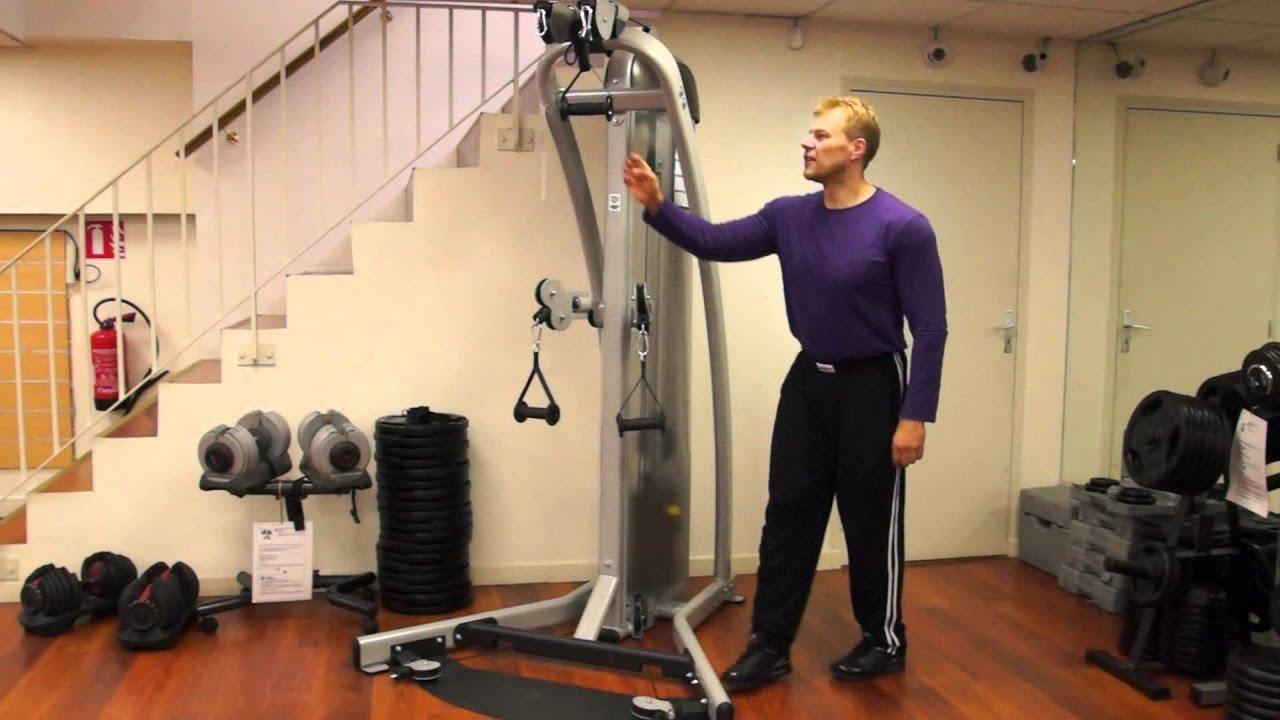 Test De La Machine De Musculation Heubozen Câble Tower Banc De