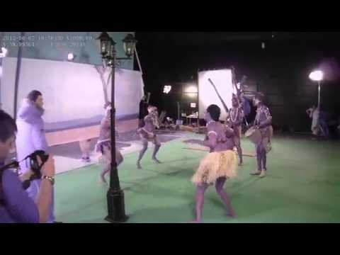 Афро шоу африканских барабанщиков в рекламе