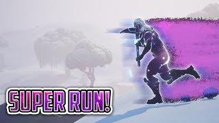 *SUPER RUN* Glitch! (Fortnite) x10 Running Speed!