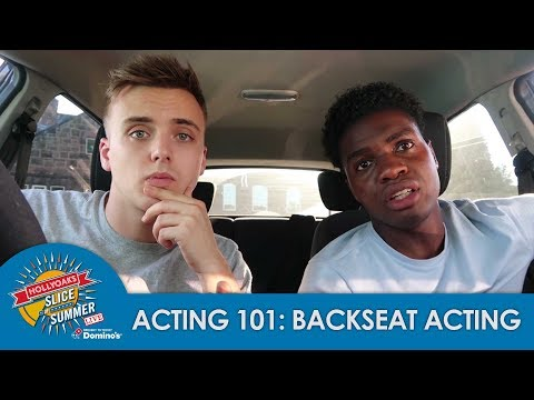 Acting 101 With Parry and Duayne: Backseat Acting