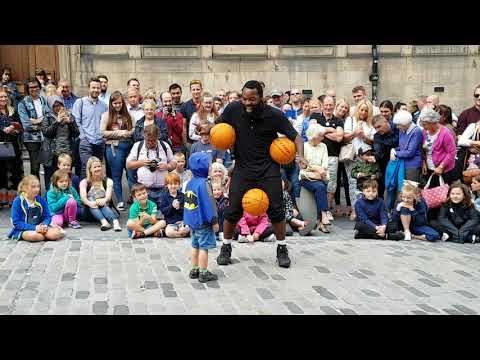 Edinburgh Fringe Festival Basketball Man