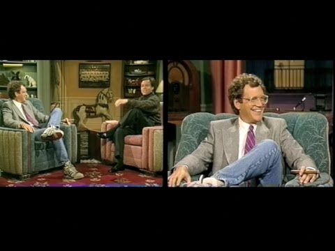 David Letterman on Later with Bob Costas, January 12, 1989, Unedited