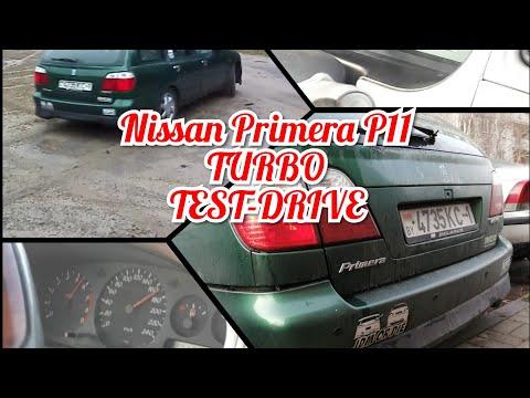 Nissan Primera P11. Sr20det.Полный Тест-драйв. Тюнинг. Обзор.