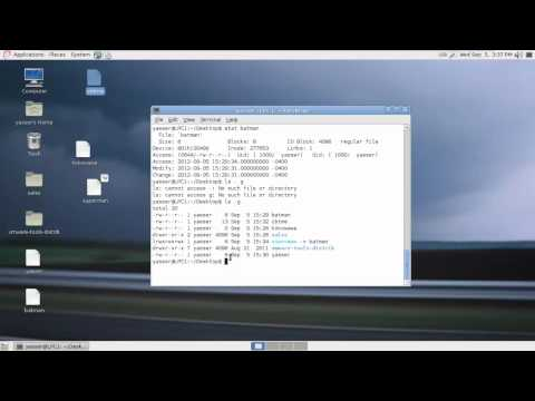 Linux Video 7 Unit 3 part 2 File and directory managemen