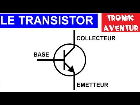 TRONIK AVENTUR 7 - TRANSISTOR pour les nuls - TUTORIEL - ELECTRONIQUE POUR LES NULS
