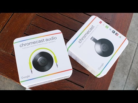 Chromecast Updates: New App And New Devices (2 + Audio)!