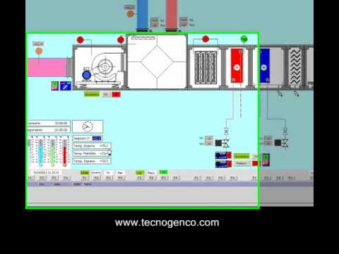 Hvac Plc Amp Scada Simulator Youtube
