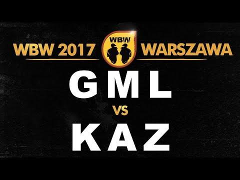 bitwa KAZ vs GML # WBW 2017 Warszawa (o 3 miejsce) # freestyle battle