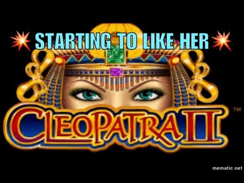 LIVE PLAY/BONUS WIN!! CLEOPATRA 2 Slot Machine Bonus from YouTube · Duration:  4 minutes 5 seconds  · 12 000+ views · uploaded on 20/11/2015 · uploaded by Brent's Lucky (& Gay) Slot Channel