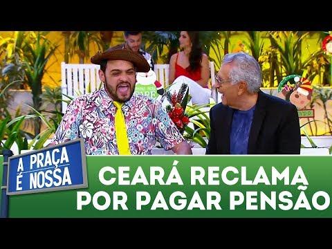 Matheus Ceará reclama da pensão do divórcio | A Praça É Nossa (07/12/17)