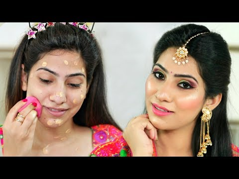 Teenager इस NAVRATRI करें ऐसे MAKEUP की सब देखते रह जायेंगे - Festival Makeup For Beginners | Anaysa