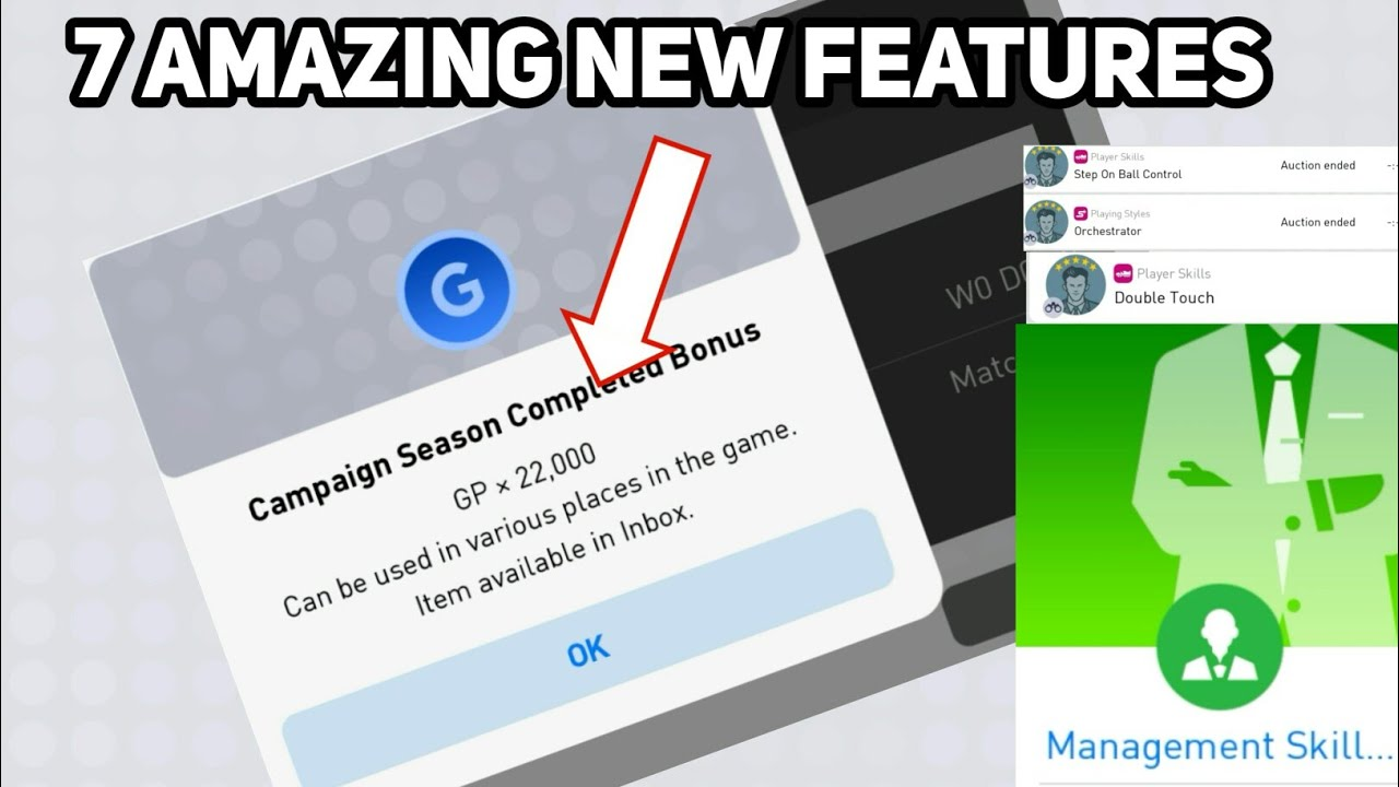 PES 2019 Mobile New Features You Need To Know Right Now