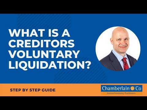 What is a creditors voluntary liquidation?