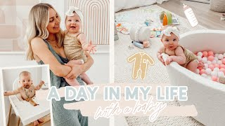 A Day in my Life with a Baby! QUARANTINE ROUTINE!!  | Aspyn Ovard