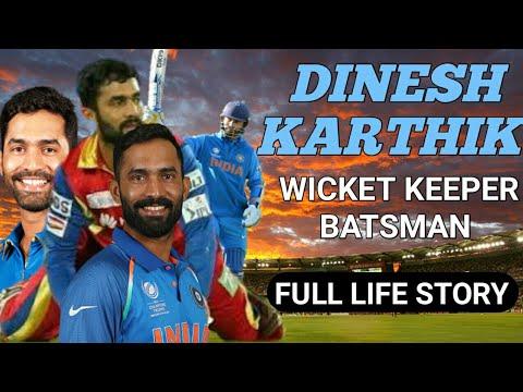 Dinesh Karthik Biography||Wicket Keeper||Batsman