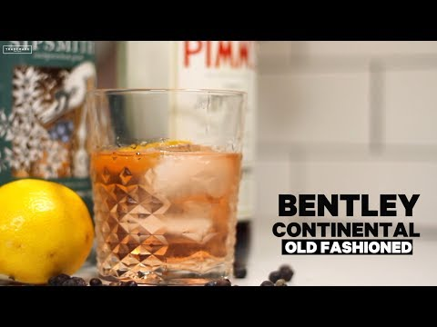 Trademark's Bentley Continental Old Fashioned