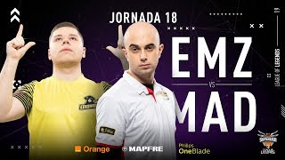 EMONKEYZ CLUB VS MAD LIONS E.C. | Superliga Orange League of Legends | Jornada 18 | Temporada 2019