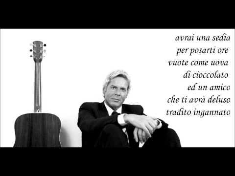 Claudio Baglioni - AVRAI +testo