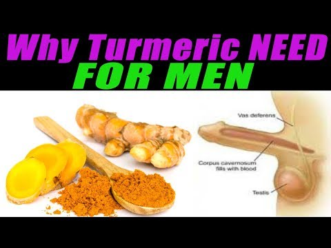 Why Turmeric NEED for MEN? Turmeric Benefits | Turmeric Milk Recipe -HEALTH CARE