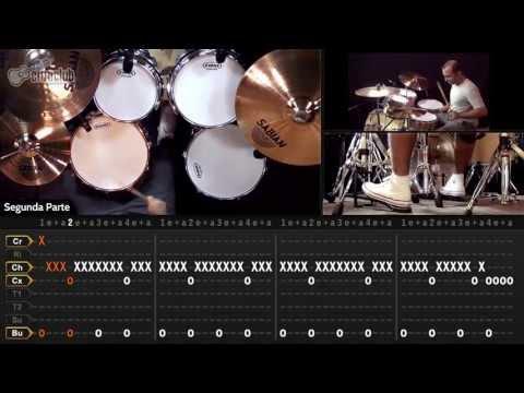 Crazy Train - Ozzy Osbourne (aula de bateria)