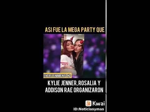 vídeos graciosos yoyo.  MEGA PARTY DE ROSALIA Y KYLIE JENNER