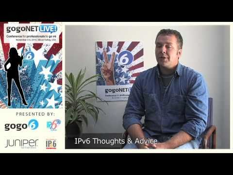 Interview with David Ward at gogoNET LIVE! IPv6 Event