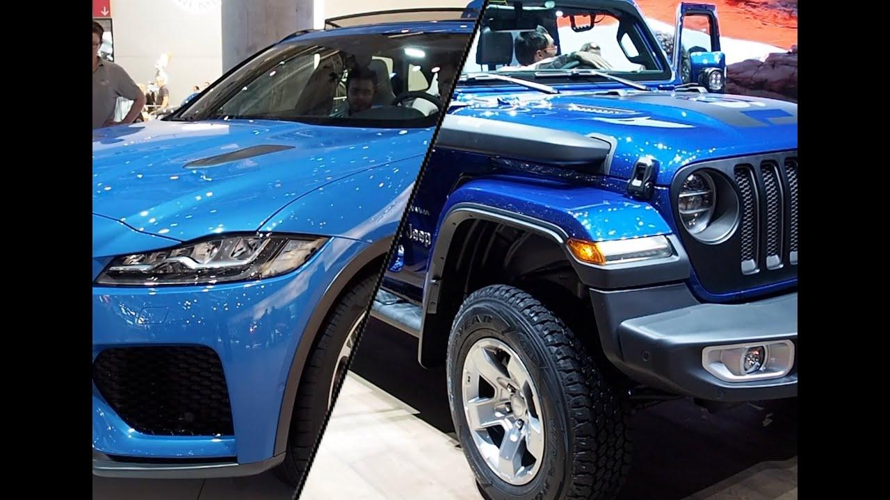 Jeep Wrangler 2020 vs. Jaguar F-Pace 2020 - YouTube