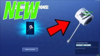 **HOW TO GET THE NEW MARSHMALLOW PICKAXE IN THE FORTNITE (ALL LOCATIONS) EASY!!!!