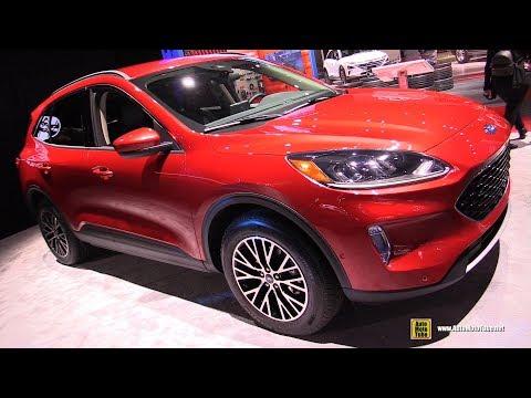 2020 Ford Escape SEL - Exterior and Interior Walkaround - 2019 NY Auto Show