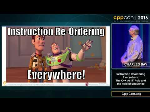 """CppCon 2016: """"Instruction Re-ordering Everywhere: The C++ 'As-If' Rule and the Role of Sequence"""""""