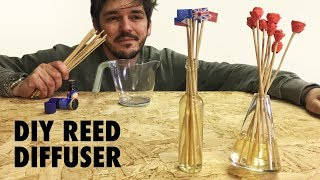Reed Diffuser (Roses on sticks) - DIY