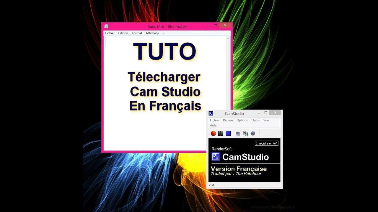 CAMSTUDIO EN GRATUITEMENT FRANCAIS TÉLÉCHARGER