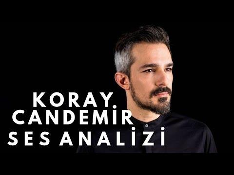 Koray Candemir Ses Analizi
