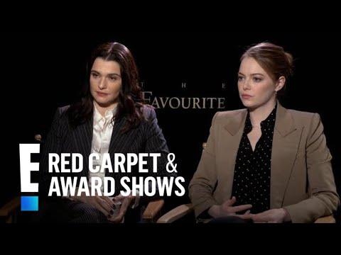 Emma Stone Teaches Rachel Weisz What 'Breaking' Means | E! Red Carpet & Award Shows