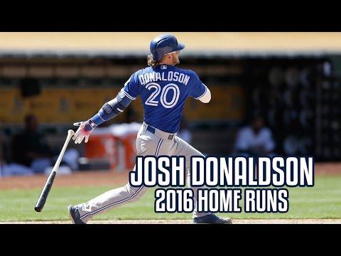 Josh Donaldson | 2016 Home Runs