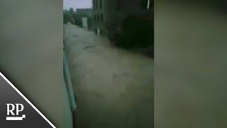 Überschwemmungen verwandeln Straßen auf Mallorca in Flüsse