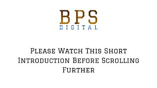 BPS Digital Coaching Introduction