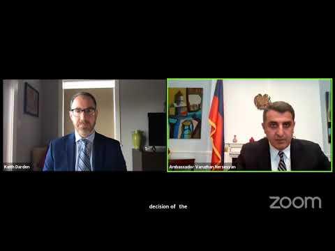 A Conversation With The Ambassador Of Armenia