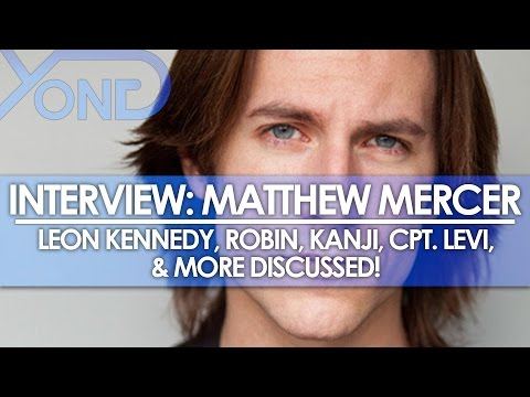 The Codec - Matthew Mercer Interview: Leon Kennedy, Robin, Kanji, Cpt Levi, & More Discussed!